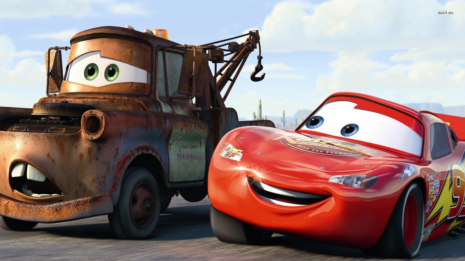 does your body behave like lightning mcqueen or mater
